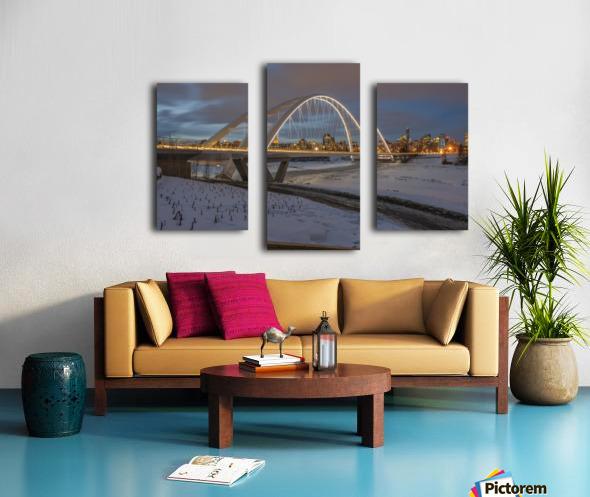 Walterdale_Bridge_NIK9890 Canvas print