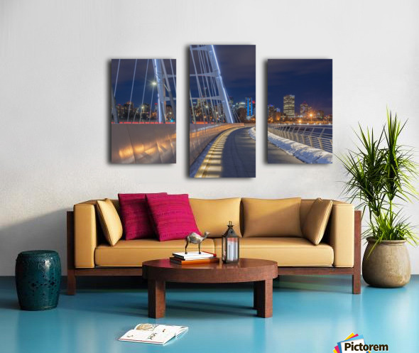 Walterdale_Bridge_NIK9898 Canvas print