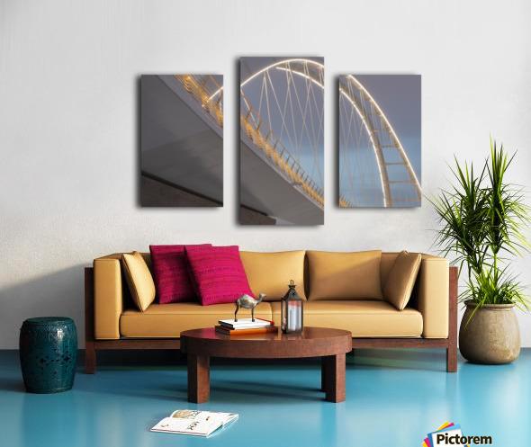 Walterdale_Bridge_NIK9887 Canvas print