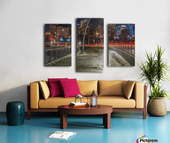 Walterdale_Bridge_NIK9912 Canvas print