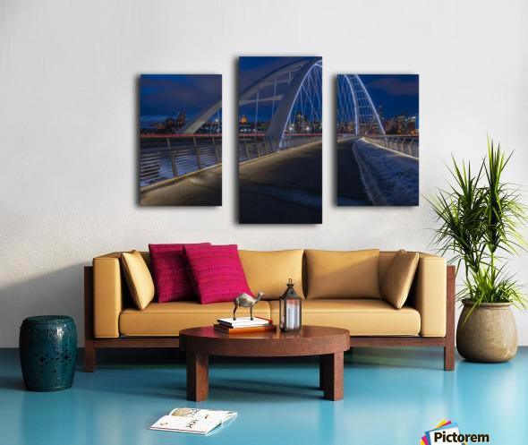 Walterdale_Bridge_NIK9895 Canvas print
