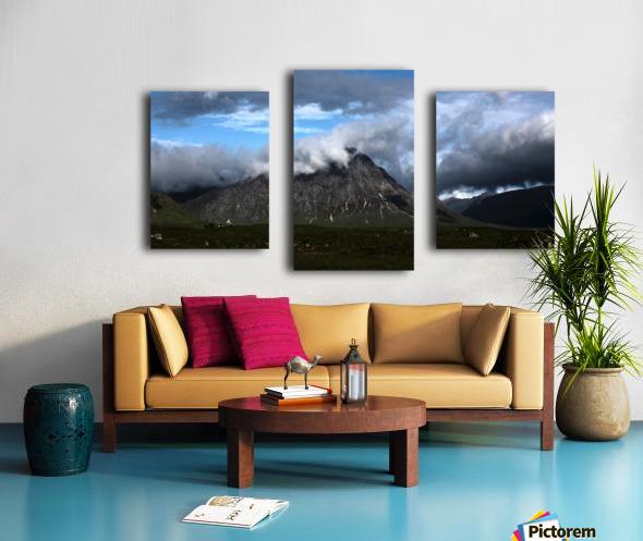 Glen Etive  Canvas print