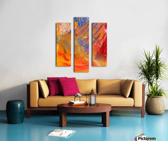 METEORITE Canvas print