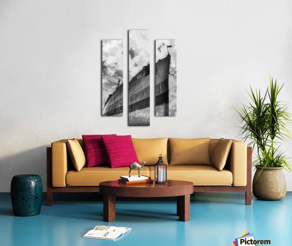 Tanked Canvas print