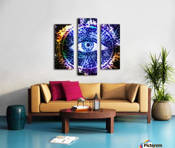Beautiful Eye Design Canvas print