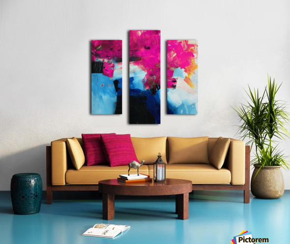 Abstract 21 Canvas print