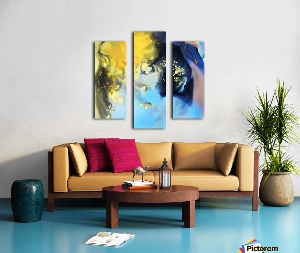 Liquid series 14 Canvas print