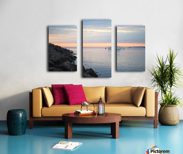 Sunrise Bay Canvas print