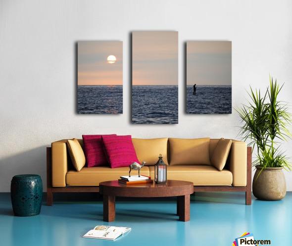 Sinking Sunset Canvas print