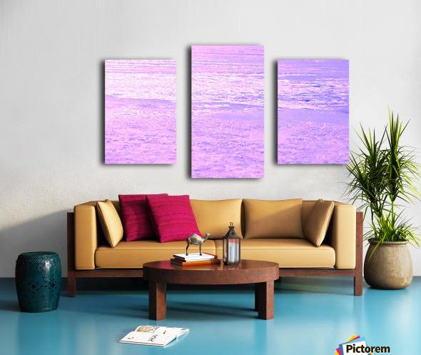 ICE 2 PINK Canvas print