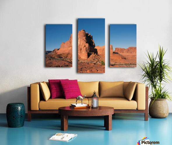 Desert Scape Canvas print