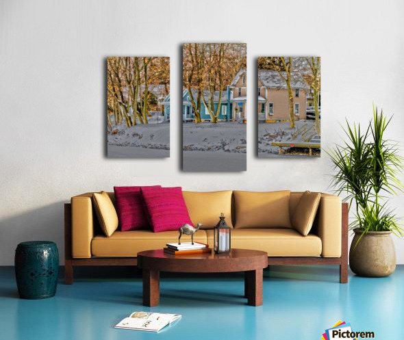 Canalside Living Canvas print