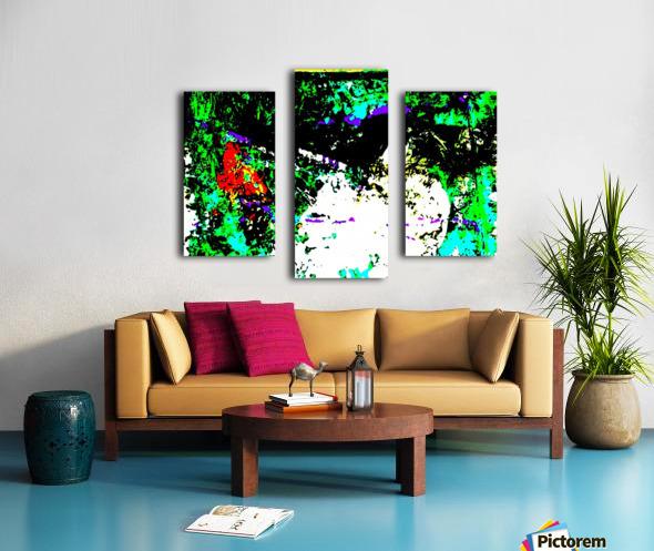 ROCHER 2 - Inverted Colours Canvas print