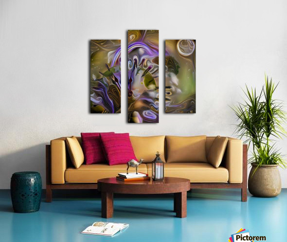 Earth Time Canvas print