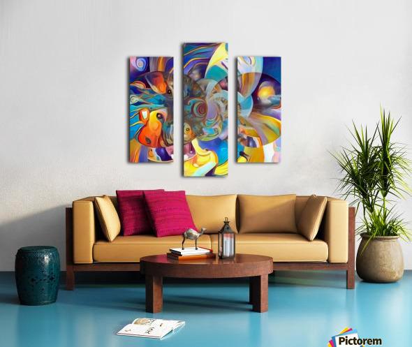 Vivid Illusion Canvas print