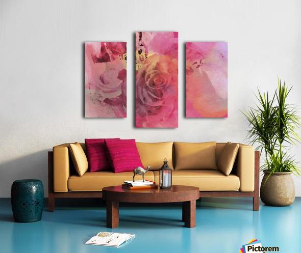 June Rose Canvas print
