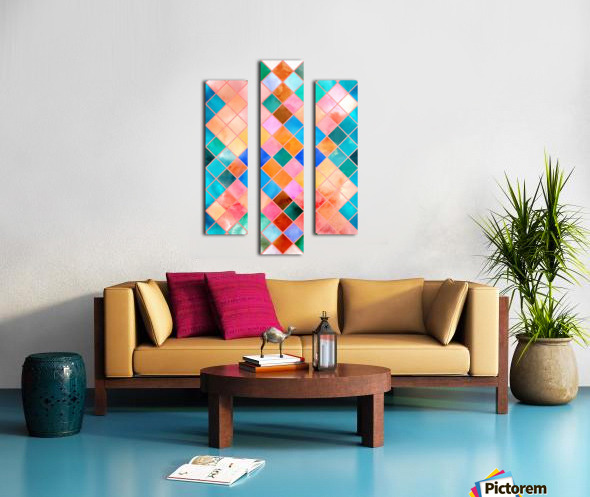 Geometric XXXX Canvas print