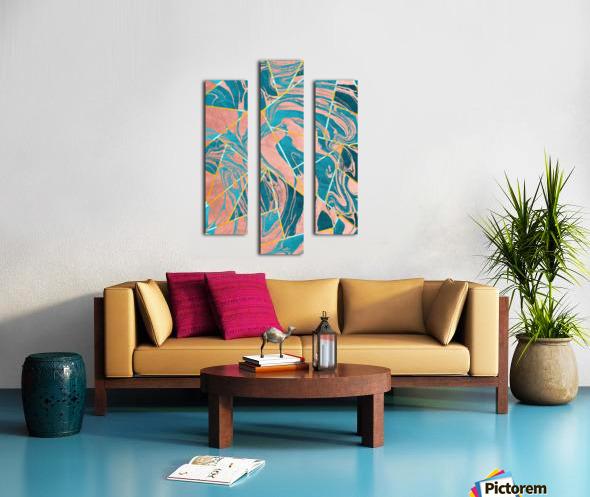 Geometric XXXXIII Canvas print