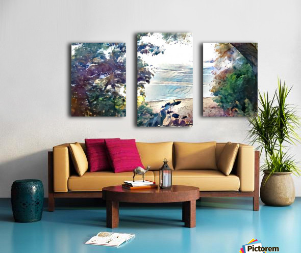 Landscape Painting (6) Canvas print