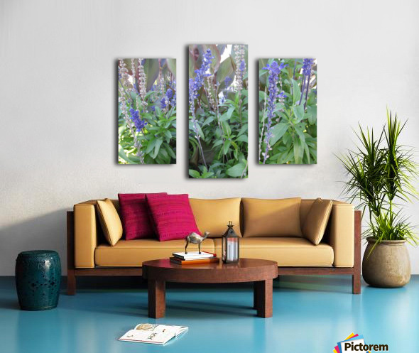 Flowers (49) Canvas print