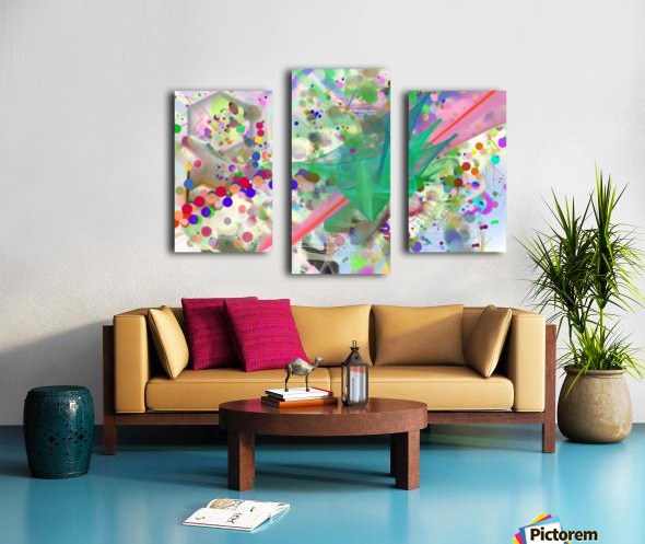 New Popular Beautiful Patterns Cool Design Best Abstract Art (6) Canvas print