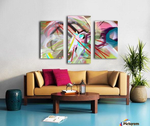 New Popular Beautiful Patterns Cool Design Best Abstract Art (2) Canvas print