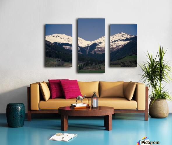 Snowy Alps Canvas print