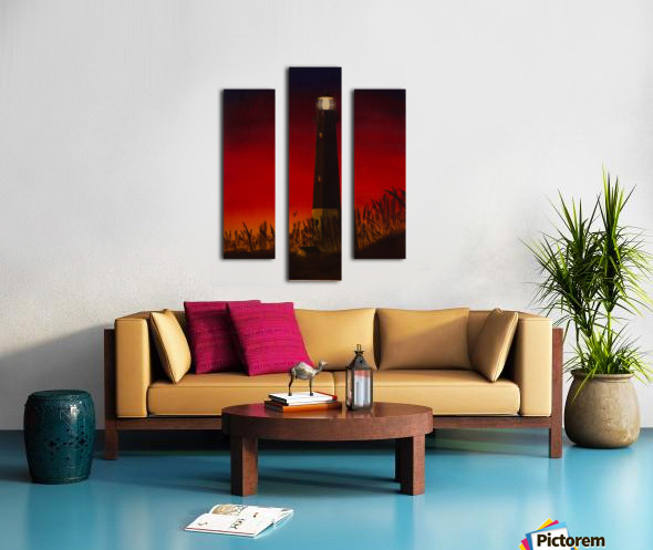 Light Too Bright Canvas print