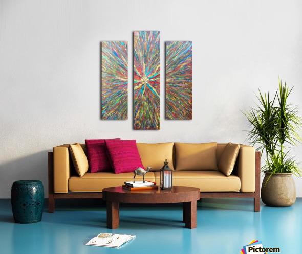 Painters World Canvas print