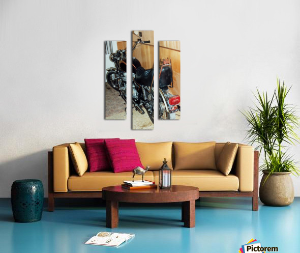 Triumph Tiger Canvas print
