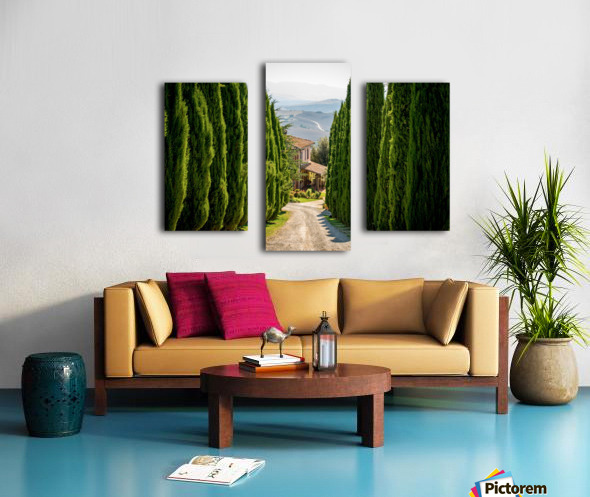 Tuscany House Canvas print