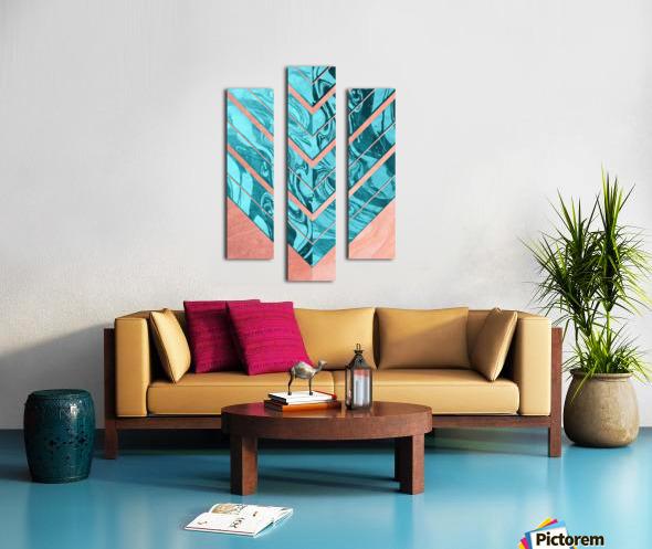 Geometric XXXXVI Canvas print