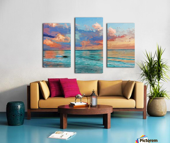 Seascape Serenade Canvas print