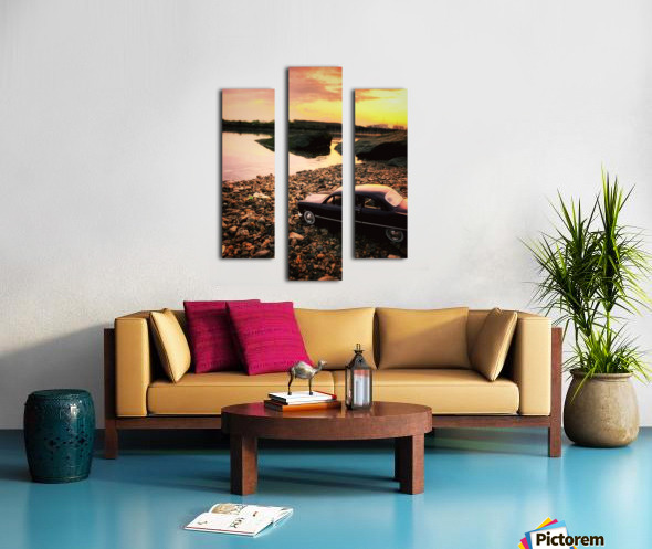 By the rivers of.... Canvas print