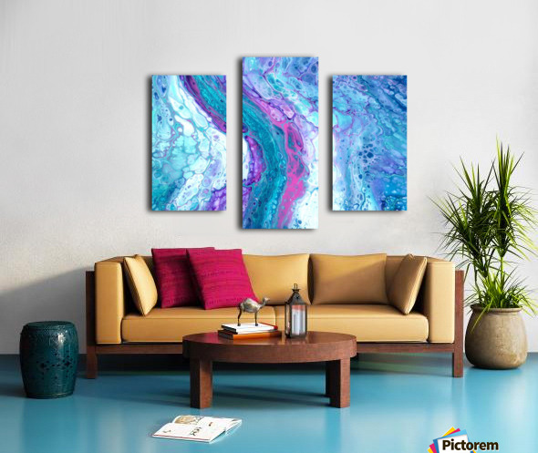 Thira Canvas print