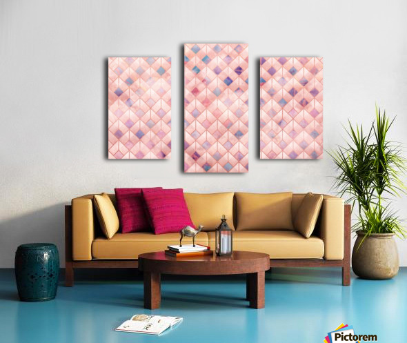 Geometric XXXXVII Canvas print