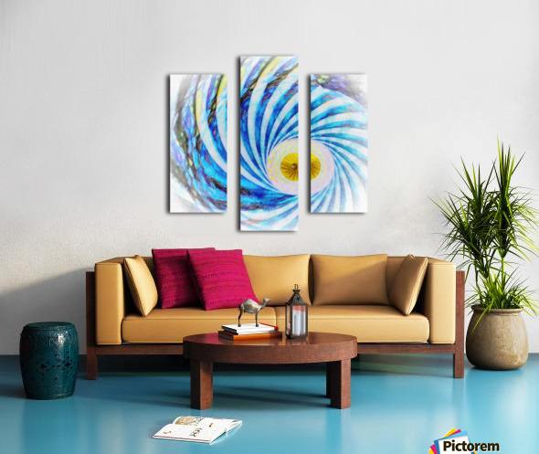Composition Oraculaire Canvas print