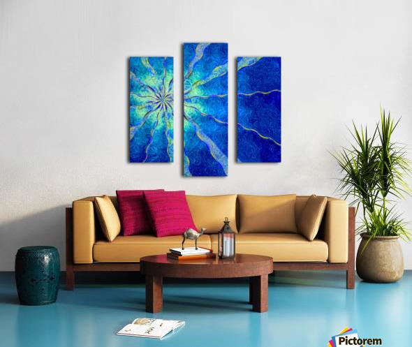 A Blue True Dream of Sky Canvas print