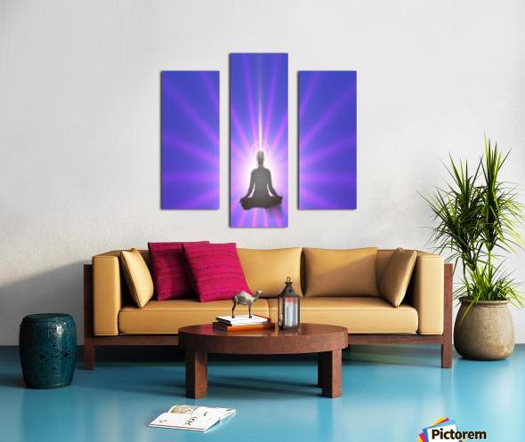 Meditation Art Canvas print