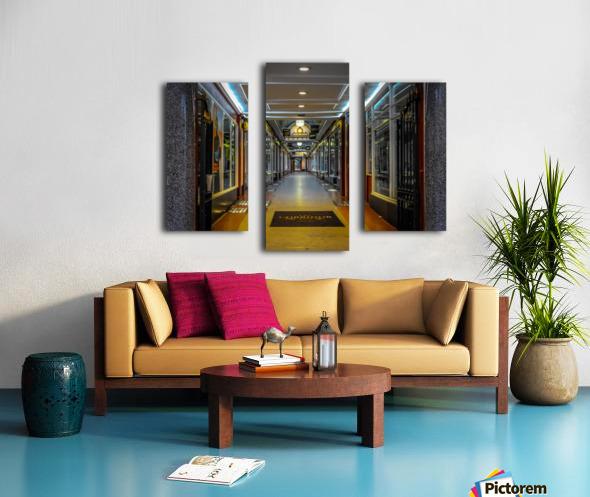 Hallway Canvas print