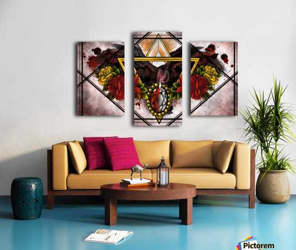 Wings of Gold  Canvas print