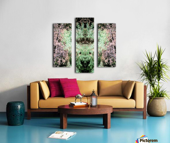 The Child of Green Canvas print