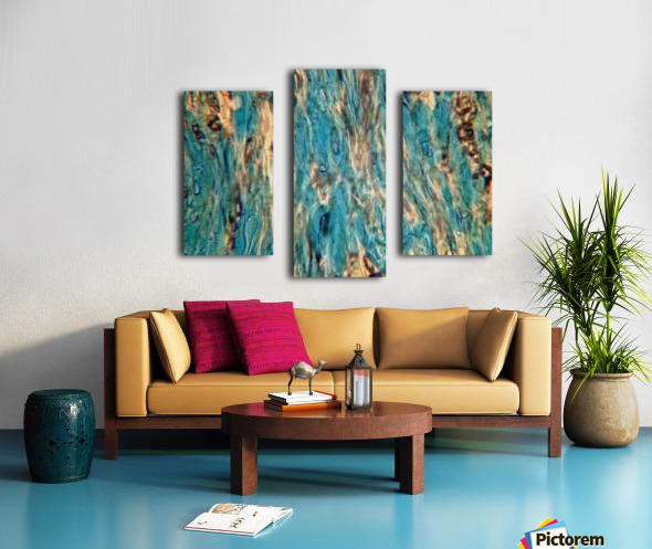 Primordial Sea Canvas print