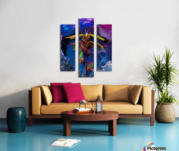 Spaces  Impression sur toile
