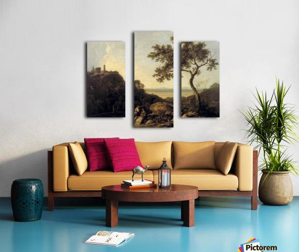 Hadrain's Villa Canvas print