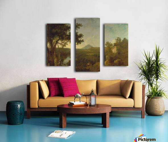 View near Wynnstay Canvas print
