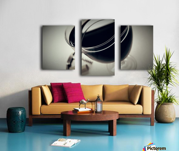 Wine Art 2 Canvas print
