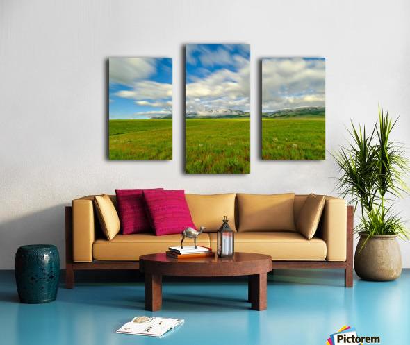 Long Exposure Goodenough Canyon Canvas print