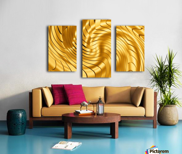 Goldie X v2.0 Canvas print