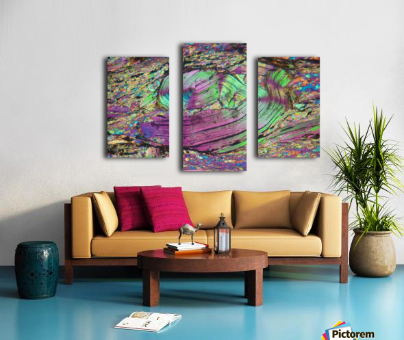 Twist Canvas print